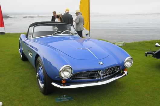 pebble beach concours -1958 BMW 507 Series II Roadster