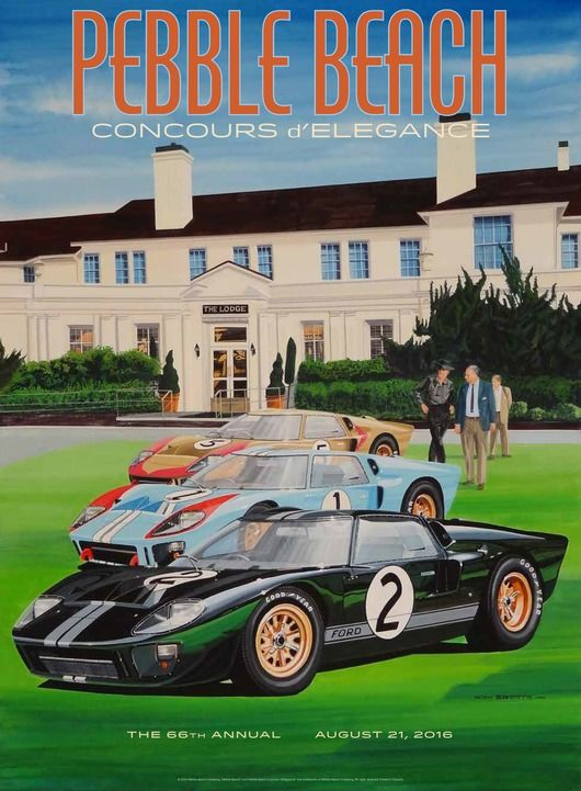 pebble beach concours d elegance - the poster jpg