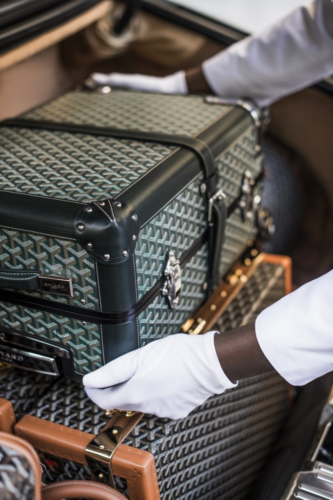 peninsula goyard 2016 travel set  - -
