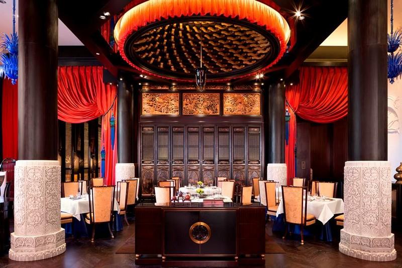 peninsula paris LiLi Fine Cantonese restaurant