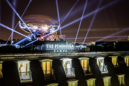 2100 bottles of champagne, wine and spirits opened at Peninsula Paris launch gala