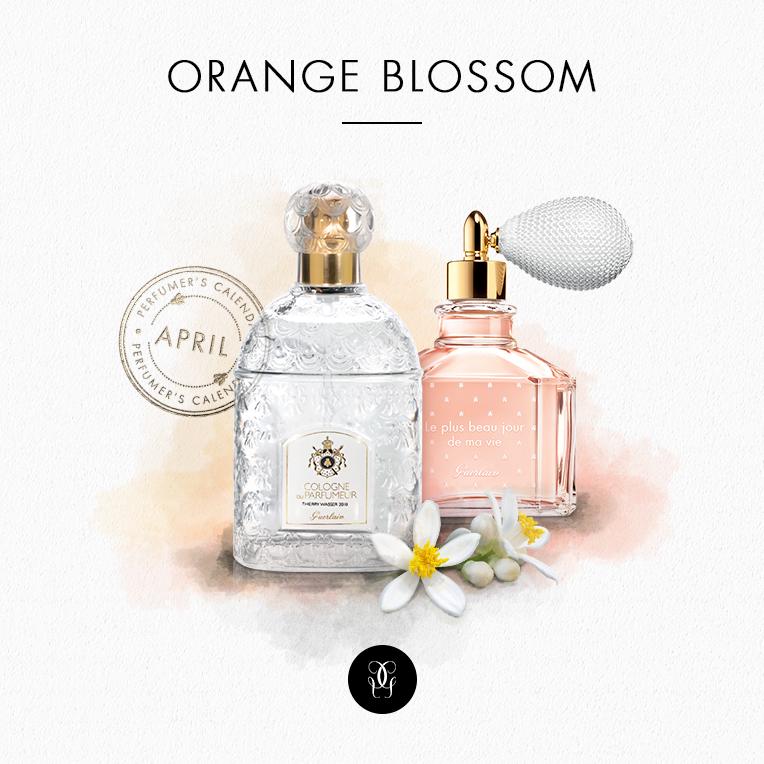 perfumers calendar - Guerlain in April 2016