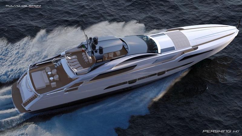 pershing 140 flagship 2015 model