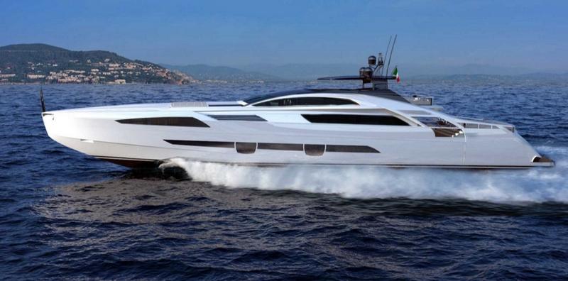 pershing 140 flagship model-