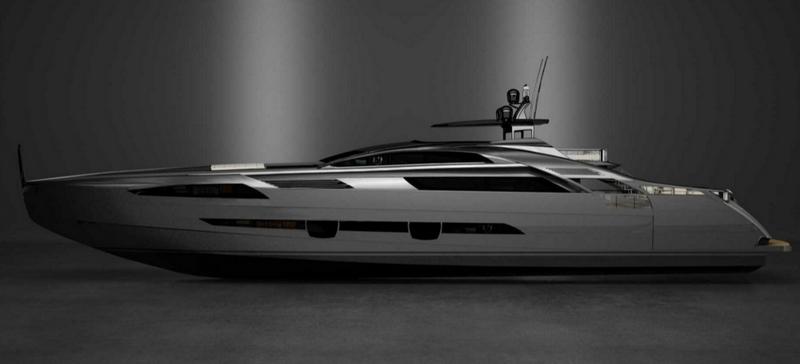 pershing 140 flagship model