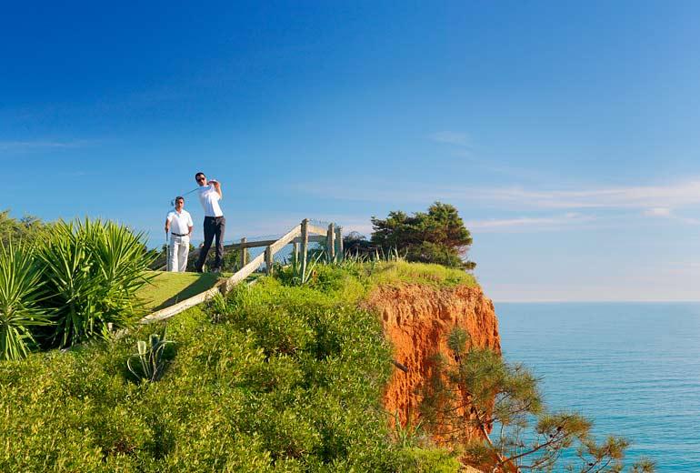 pine cliffs ocean suites - a luxury collection resort algarve - 2luxury2com-Pine Cliffs Golf Course - Devils Parlour hole