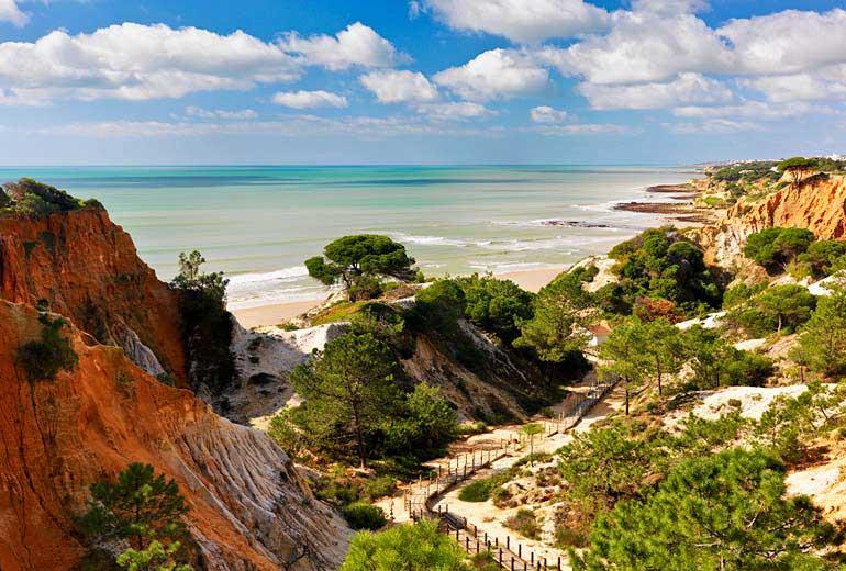 pine cliffs ocean suites - a luxury collection resort algarve - 2luxury2com-Praia da Falesia Beach