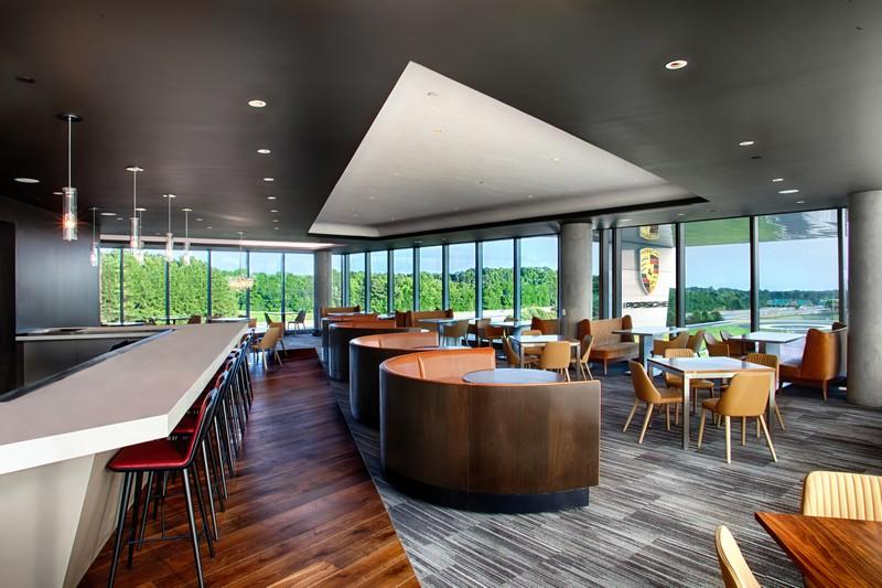 porsche restaurant 365 view
