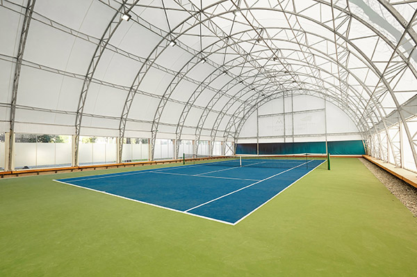 porto montenegro -first covered hard court tennis venue