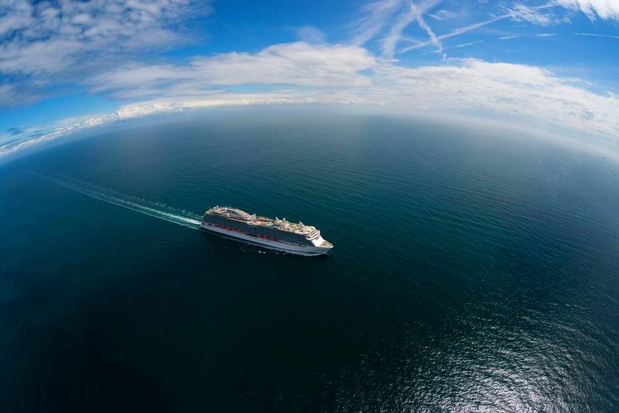 princess cruises - ship