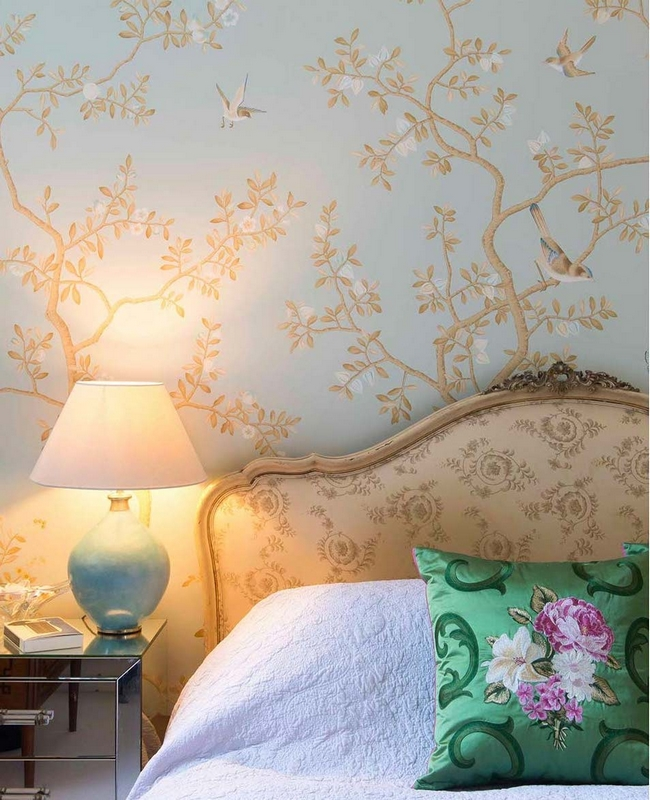 printed panoramic wallpapers by studio fromental