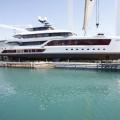 quinta essentia yacht  in the shipyard 2016