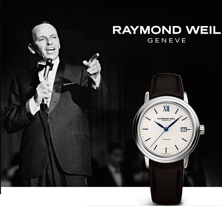 raymonnd weil - Raymond Weil maestro Frank Sinatra limited edition watch
