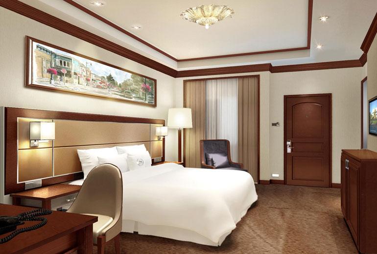 renovated Sheraton Samoa Aggie Grey's Resort-Guest Room - Rendering