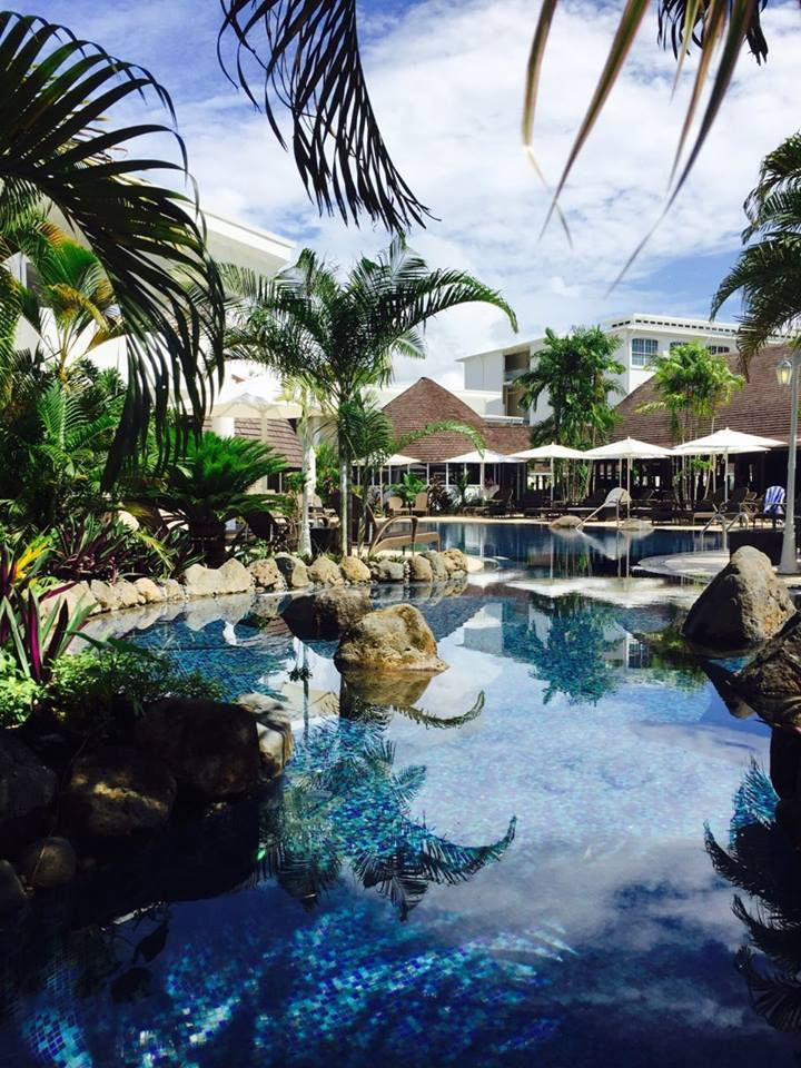 renovated Sheraton Samoa Aggie Grey's Resort-beautiful samos