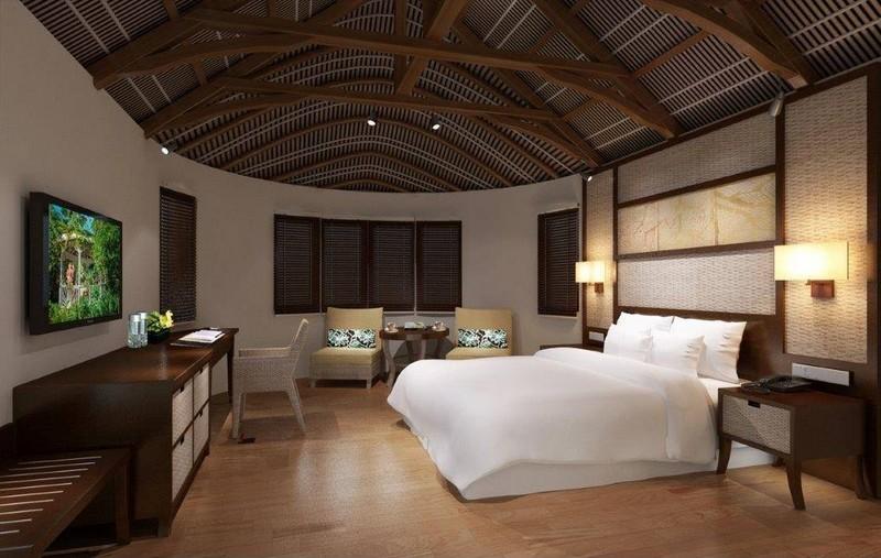 renovated spacious bungalows- Sheraton Samoa Aggie Grey's Resort