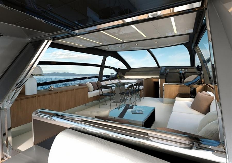 riva 76 coupe--interior 1