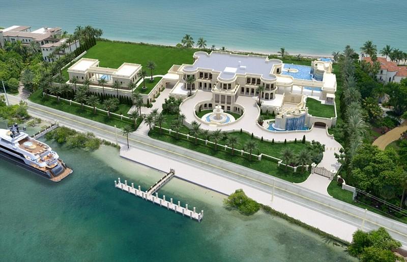 robert pereira florida mansion - le palais royal florida