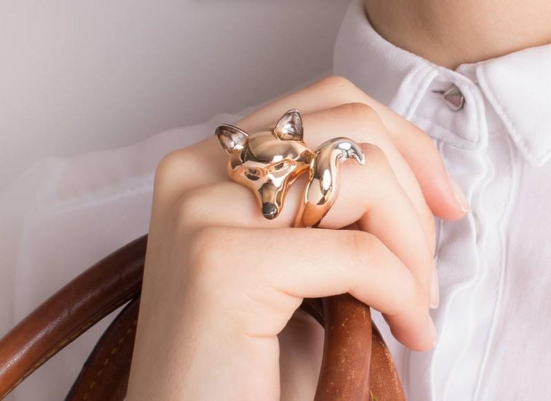 roberto coin fox ring