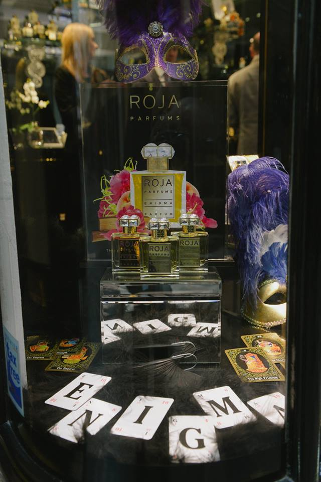 roja dove event at Burlington Arcade