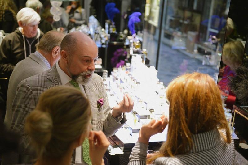 roja dove parfums event at Burlington Arcade-