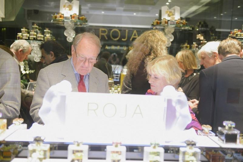 roja dove parfums event at Burlington Arcade