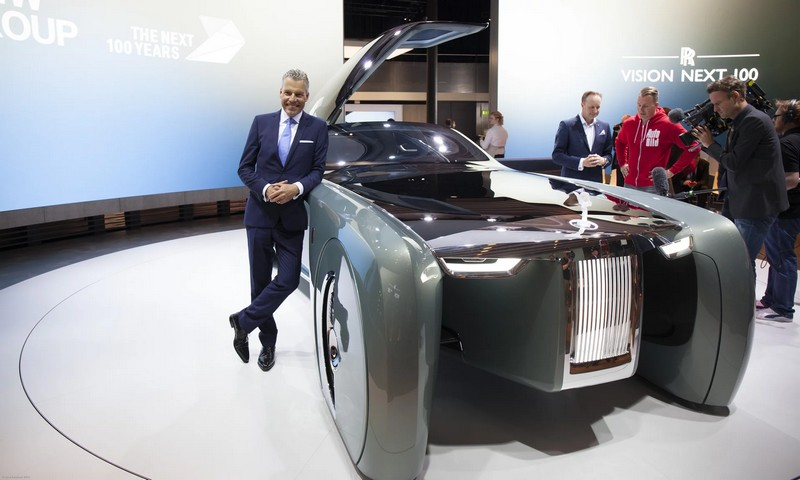 rolls-royce next vision 100 - The Vision Next 100 - the autonomous vehicle aimed at the most discerning and powerful patrons in the world-