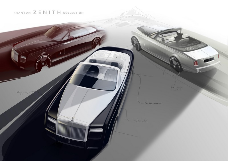 rolls-royce phanton zenith collection 2016