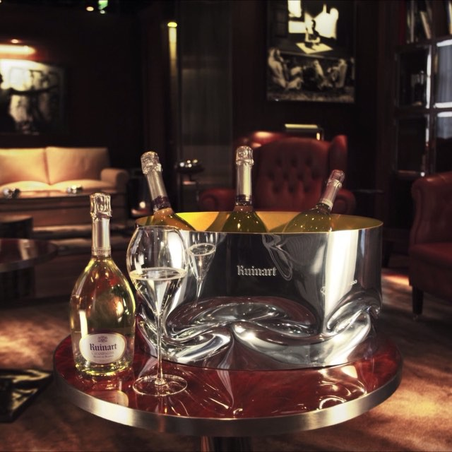 ron arad for ruinart 2015 champagne cooler