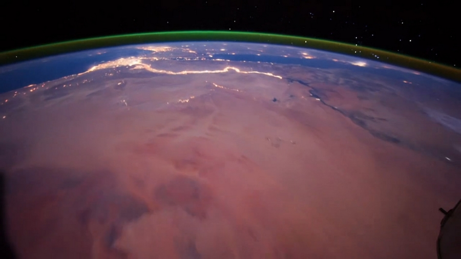 sahara desert from space