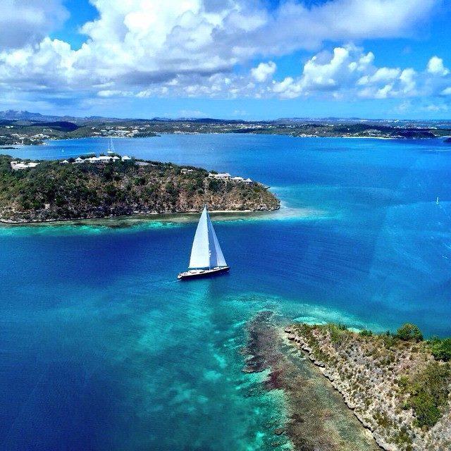 sailing season Caribbean
