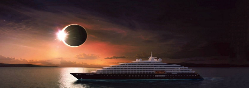 scenic eclipse ship launched