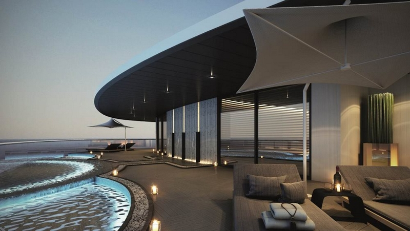 scenic eclipse ship - spa and relaxation