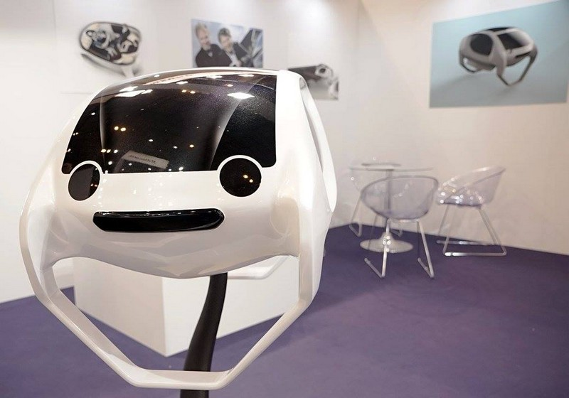 seabubble -driverless electric car - viva technology paris 2016 - the car that flies over water, presented by LVMH luxury group