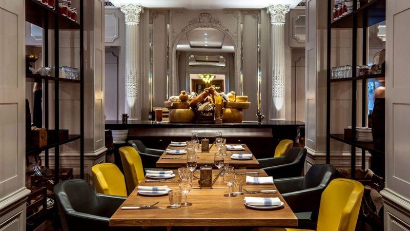 sheraton park lane london-Mercante Restaurant