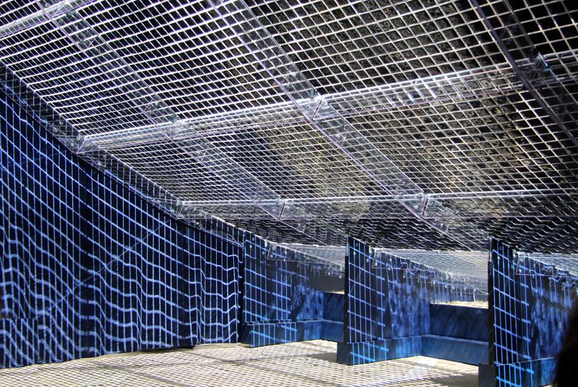 shigeru-ban-Reverberation -Pavilion of Light and Sound- inspited by Venice