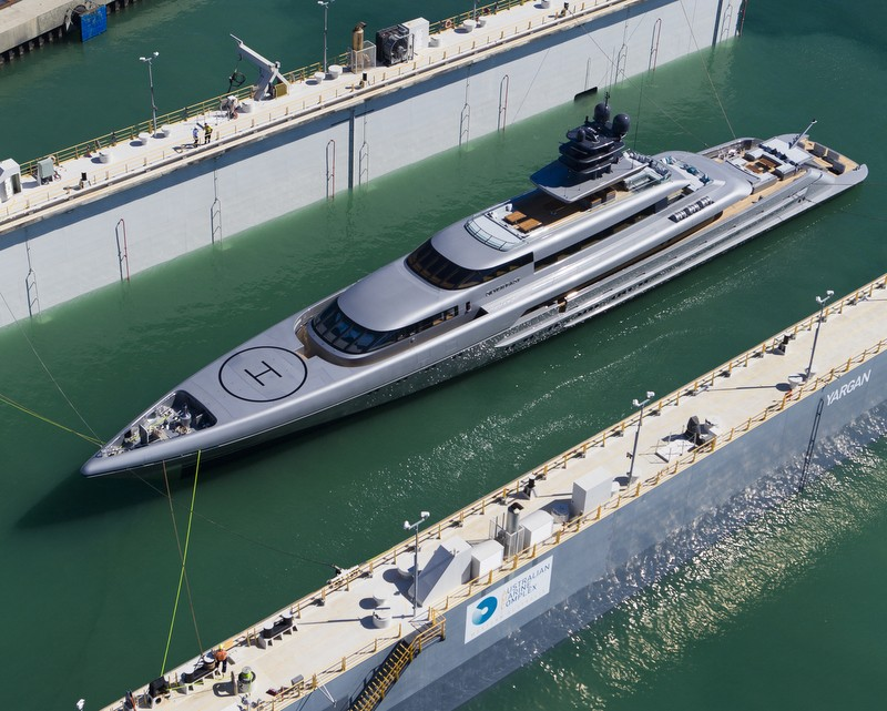 silver fast 77m by Silver Yachts 2015 on the water