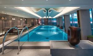 skypool the 52nd-floor infinity pool at Shangri-La Shard, London