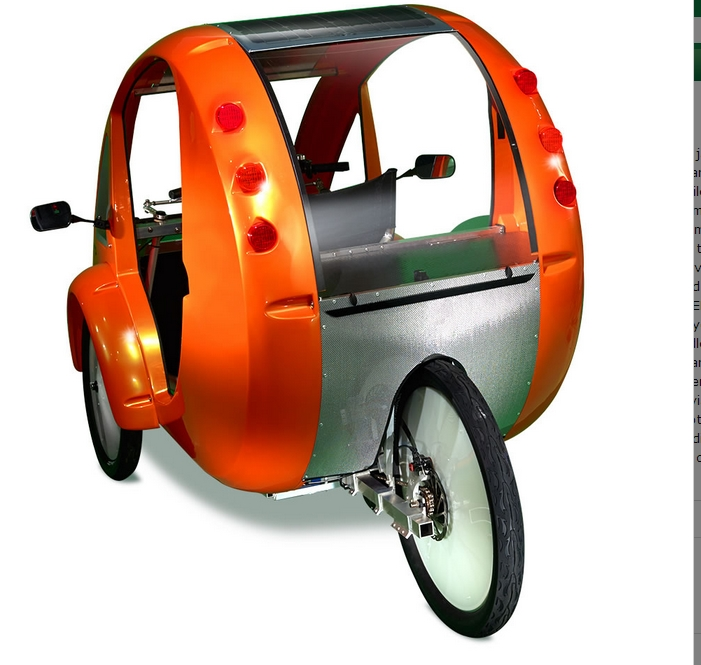 Bikes That Look Like Cars solar velomobile jpg