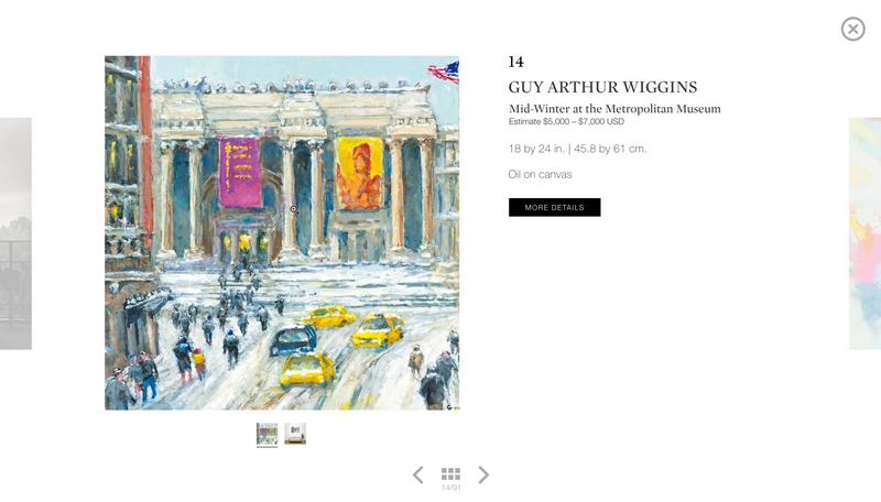 sothebys ebay live auctions 2015- themed New York sale and a Photographs sale-April 2015