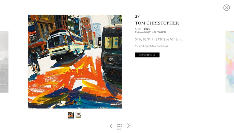 sothebys ebay live auctions 2015- themed New York sale and a Photographs sale