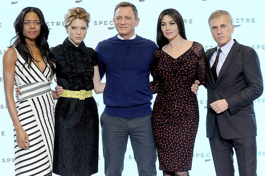 spectre movie team