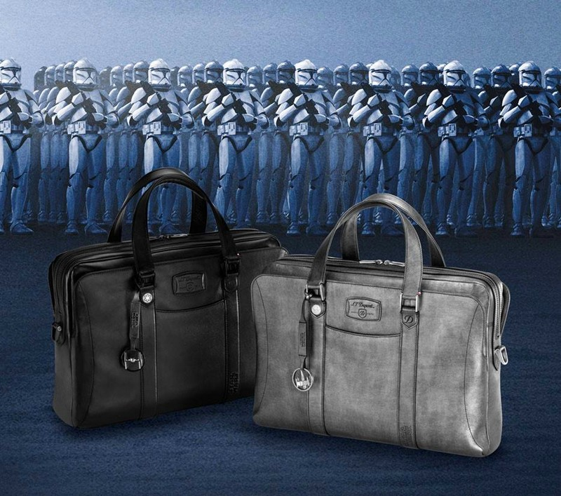 st dupont Star Wars collection of small leather goods-