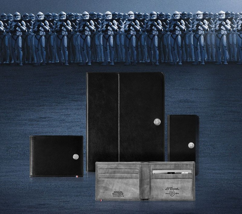 st dupont Star Wars collection of small leather goods