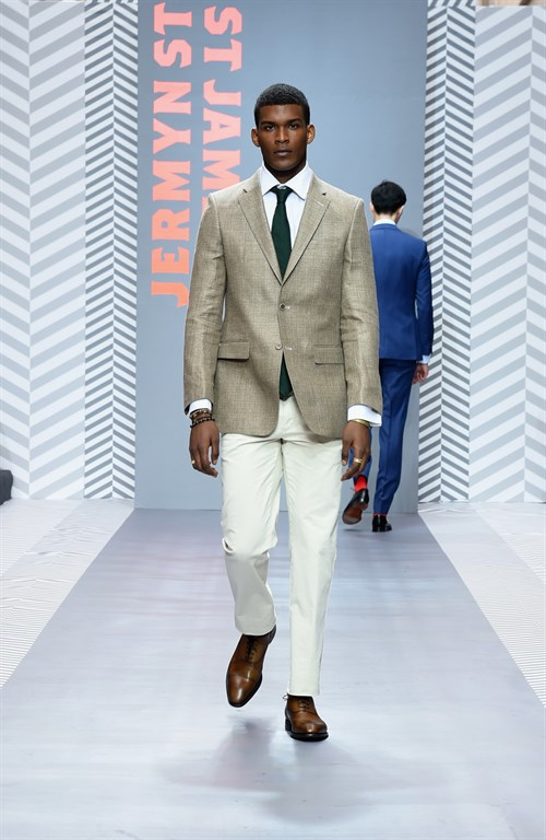 st james london lcm -Harvie and Hudson look 2016