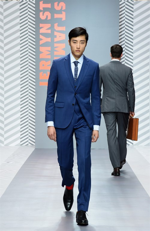 st james london lcm -Hawes & Curtis look 2016