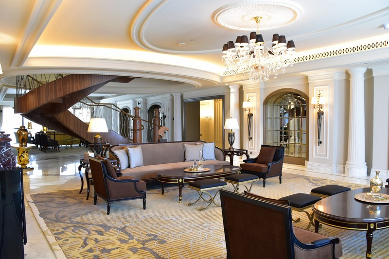 st regis dubai - the imperial suite-