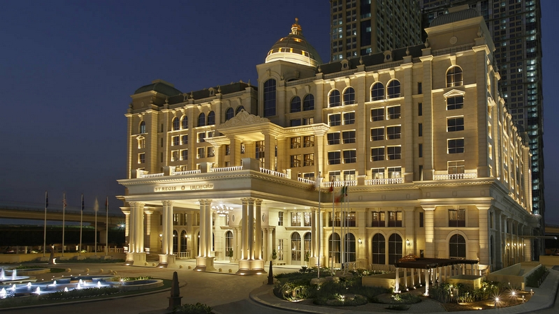 st regis dubai - the imperial suite