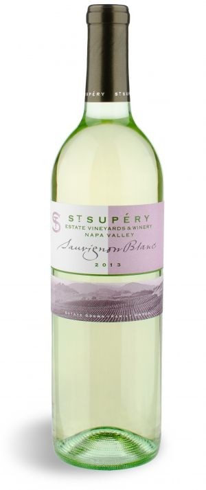 st supery wine bottle