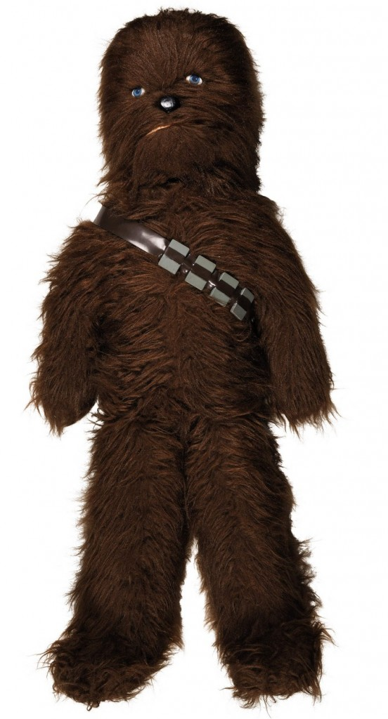 star-wars-chewbacca-42-inch-kenner-canada-plush-store-display-circa-1978-The First Auction of Star Wars Collectibles at Sothebys